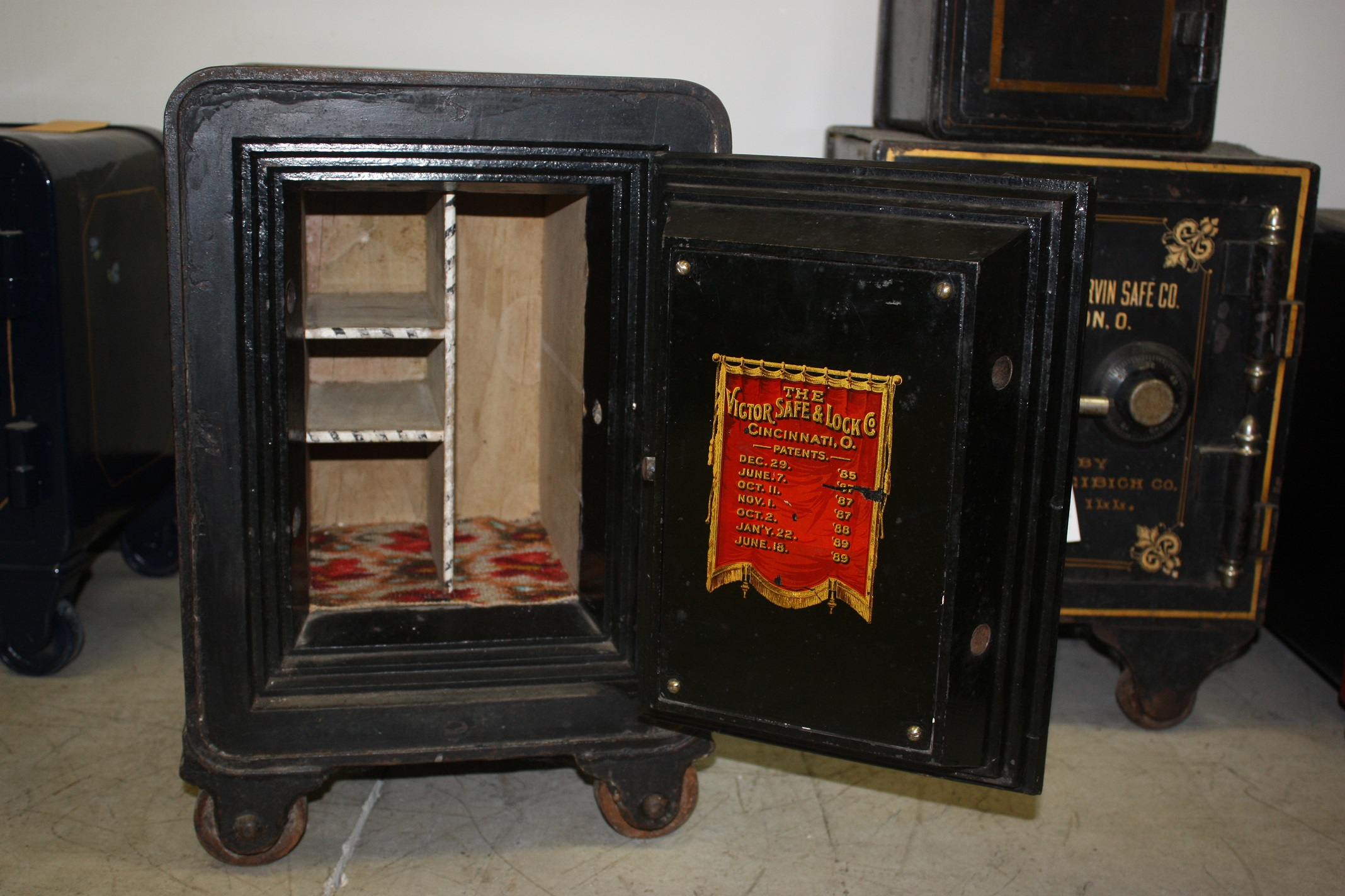Antique Victor Safe Archives Tom Ziemer