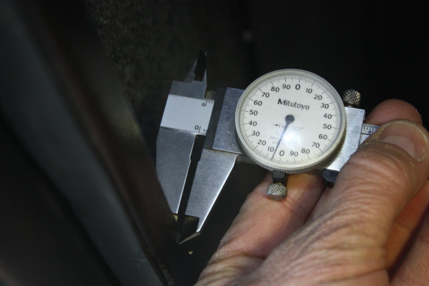 measuring steel 003