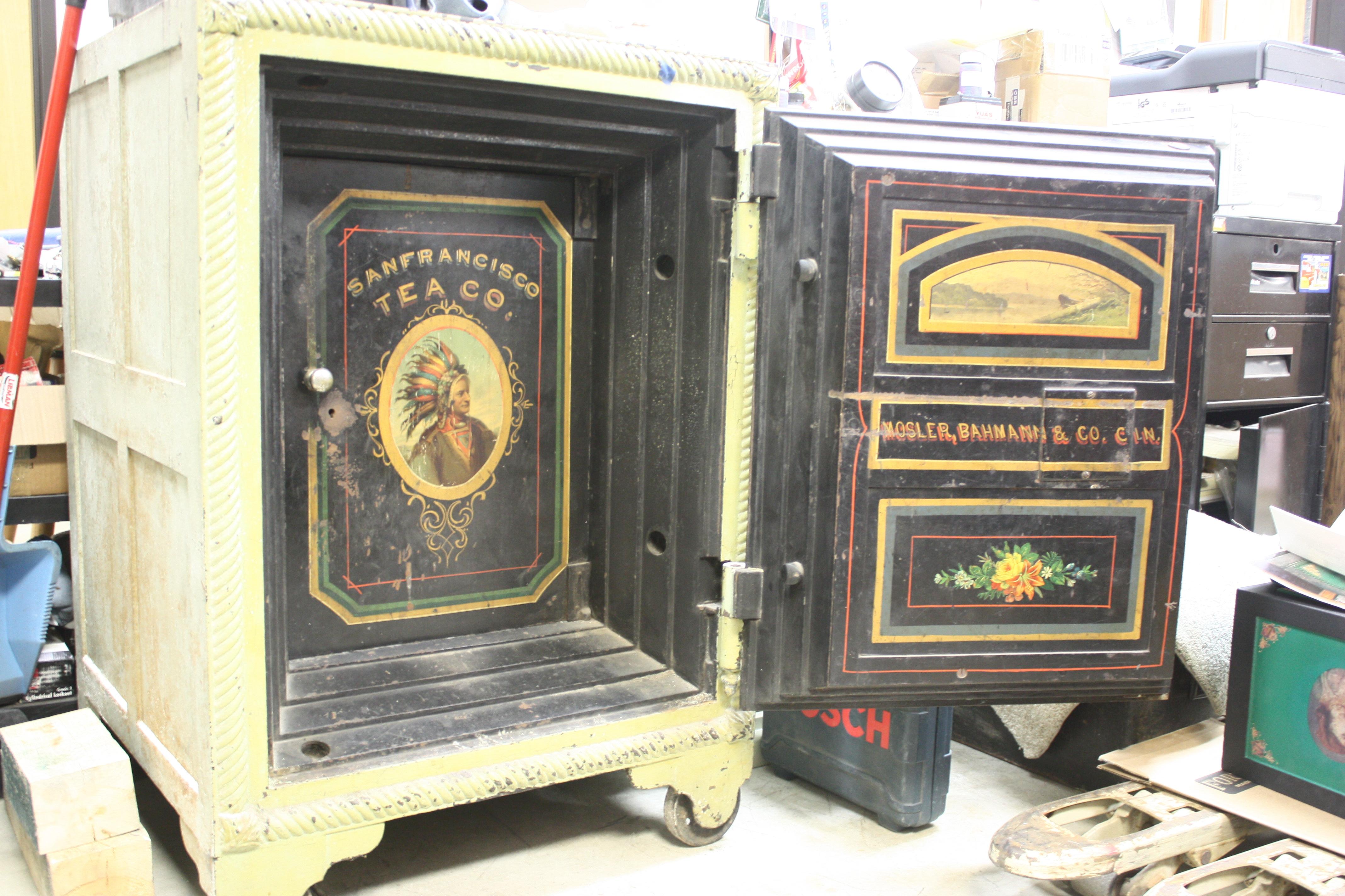 Fantastic Old Safe For Sale #OB24 – Roccommunity