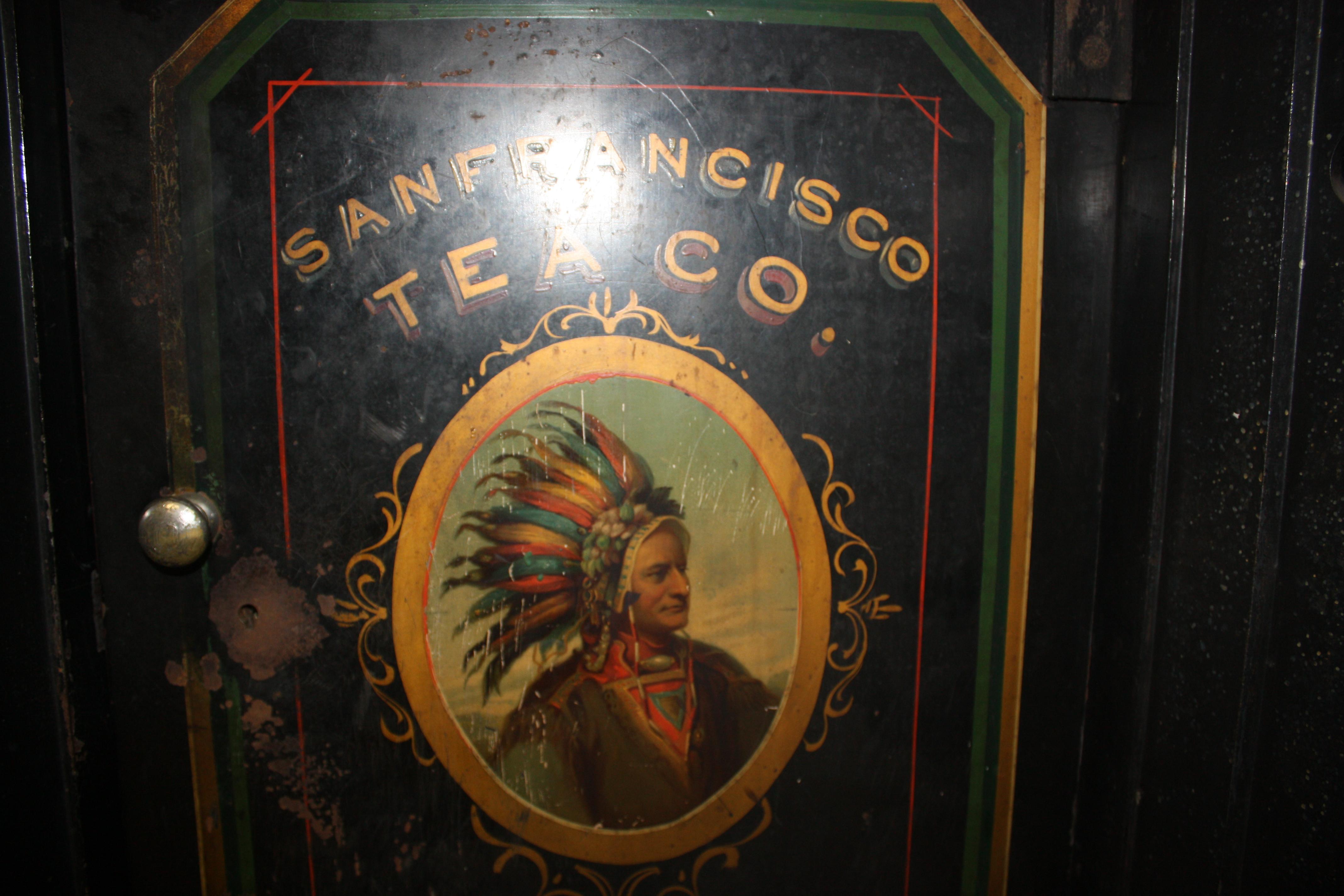 Antique Safes San Francisco Tea Company Tom Ziemer