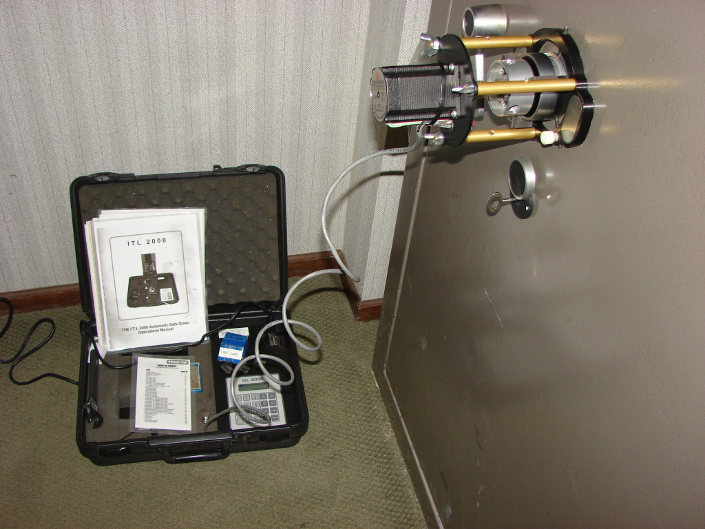 Safe Locks Archives Tom Ziemer Is Wiring Money The Pictures Show An Auto Dialer Connected To A Gun That We Recently Opened These Specialized Machines Are Great For Some Situations Where With