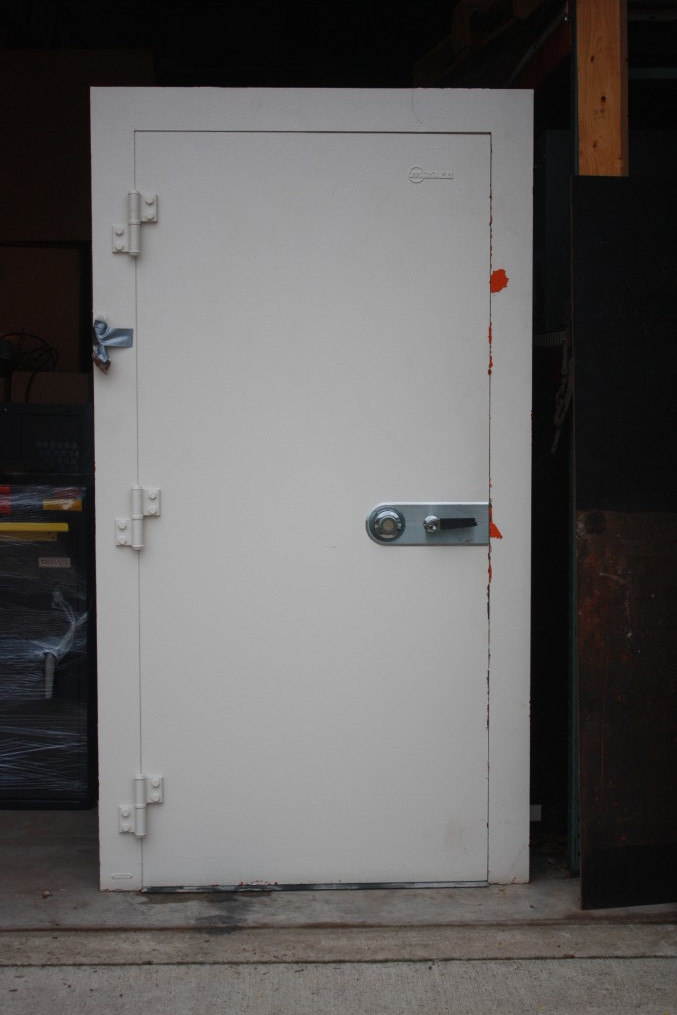 One of the nice things about buying a used door like this one is that they are reasonably priced. We usually sell them for $2000 or less. & Used Vault Doors For Sale | Tom Ziemer