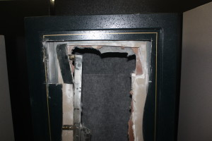 how to open a gun safe without the key